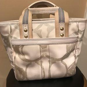 Coach Bags - Coach Hamptons Weekend Tote Purse Bag Used